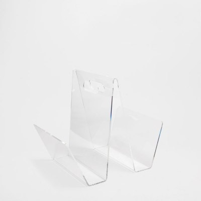 Clear Magazine Rack Zara Home