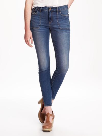 Rockstar Skinny Jeans Old Navy